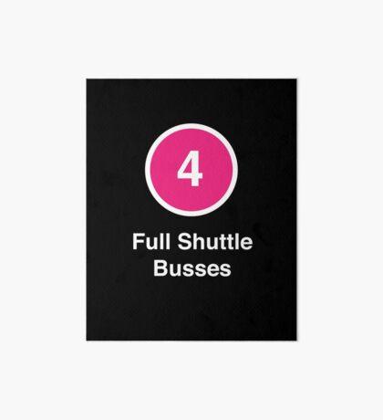Full Shuttle Busses Art Board