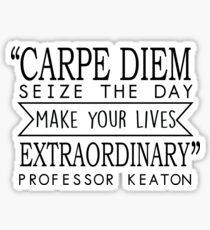 Carpe Diem - Dead Poets Society Sticker