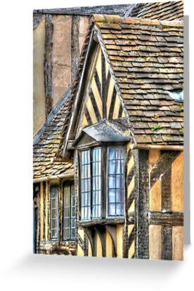 Tudor Style House by Sue Leonard