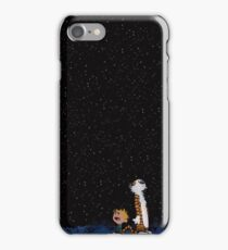 Calvin and Hobbes Stars iPhone Case/Skin