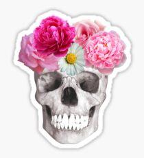 Ornate skull Sticker