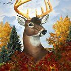 My Nephews Deer, (digital version) by WildestArt