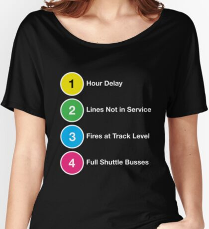 Line Delays Women's Relaxed Fit T-Shirt