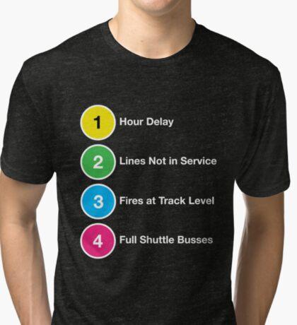 Line Delays Tri-blend T-Shirt