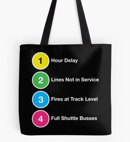 Line Delays Tote Bag