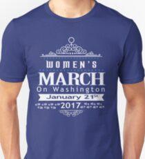 Million Women's March on Washington 2017 T-Shirt