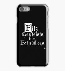 The Fitz and The Fool (Fitz) iPhone Case/Skin