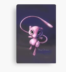 Fanart mew pokemon Canvas Print