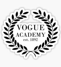 Vogue Academy Sticker