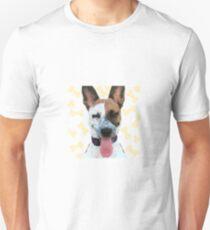 Blue Heeler Puppy Dog Smiling Tongue T-Shirt