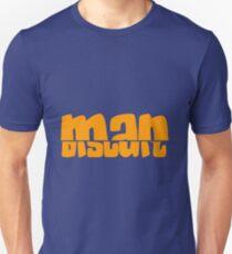 Half Man Half Biscuit orange T-Shirt