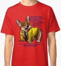 Dirk Gently's Holistic Detective Agency: Corgi Classic T-Shirt