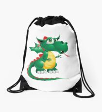 Draco the Keywebco Dragon  Drawstring Bag