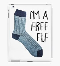 Free elf iPad Case/Skin