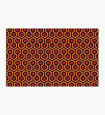 The Shining - Overlook Hotel Carpet pattern Photographic Print