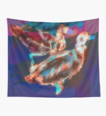 Abstract Duck Art Spiral Notebook Wall Tapestry