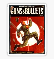 Guns and Bullets #10 Sticker