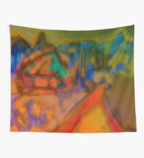 Colorful Abstract Art Laptop Skin Wall Tapestry