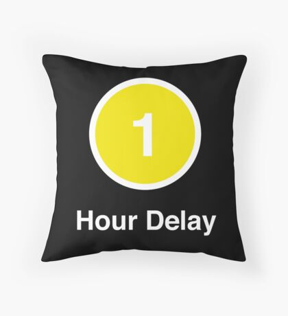 Another Delay Throw Pillow