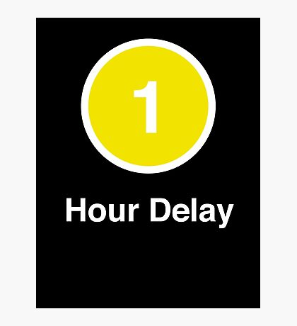 Another Delay Photographic Print