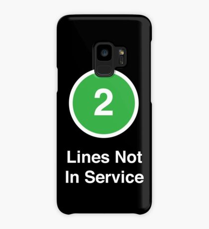 Lines Not In Service Case/Skin for Samsung Galaxy