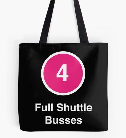 Full Shuttle Busses Tote Bag