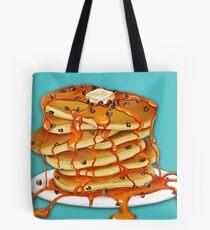 Ooey Gooey Chocolate Chip Pancakes Tote Bag