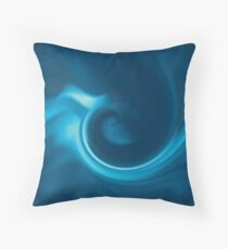 Turbulent Swirls V2 Throw Pillow
