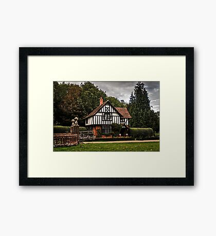 Lodge Framed Print