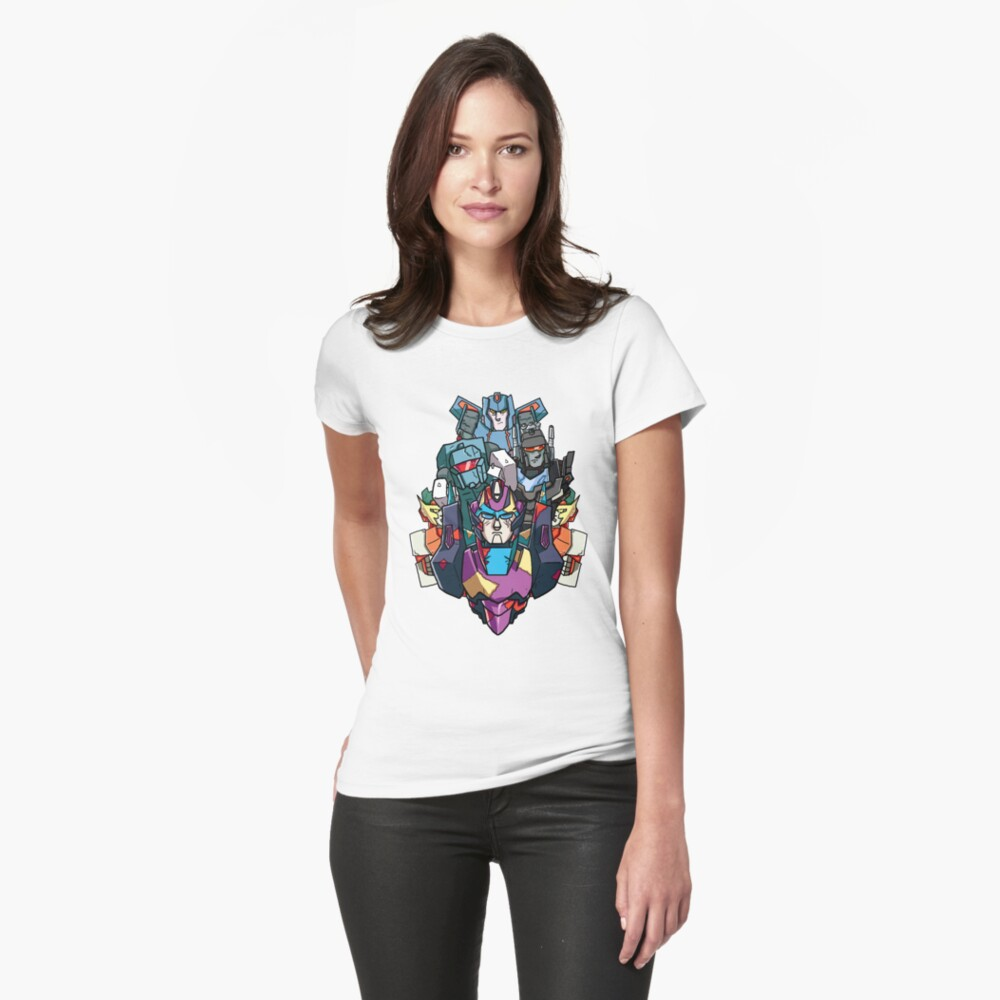 The Damage Is Done Womens T-Shirt Front