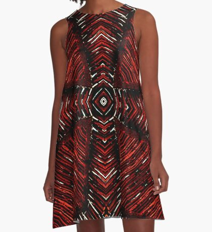 Tribal Daze  A-Line Dress