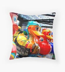 Liverpool Duck Trail Throw Pillow