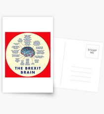 THE BREXIT BRAIN - A GUIDE Postcards