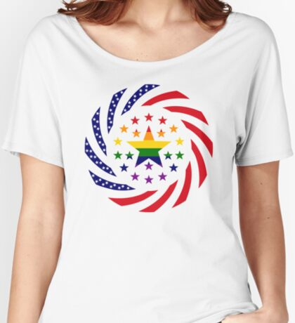 Love is Love American Flag 2.0 Relaxed Fit T-Shirt