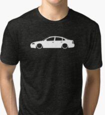 Lowered car for VW Passat B5.5 facelift sedan 2001-2005 enthusiasts Tri-blend T-Shirt