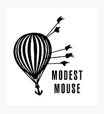 Modest Mouse Good News Before the Ship Sank Combined Album Covers Photographic Print