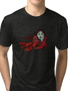 The Chase - Running Away From Fear Tri-blend T-Shirt