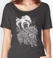 Deep Cloud Women's Relaxed Fit T-Shirt