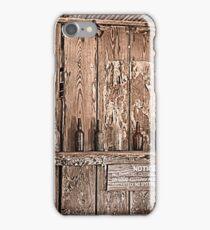 Langtree Saloon iPhone Case/Skin