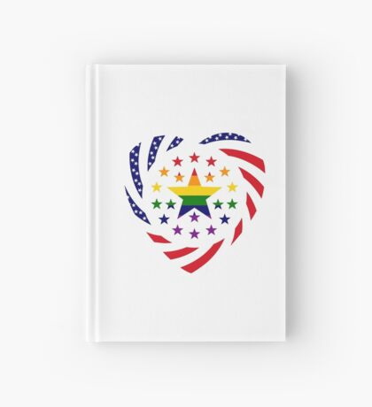 Love is Love American Flag 2.0 (Heart) Hardcover Journal