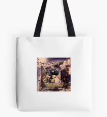 Draco the Dragon abstract in window Tote Bag