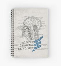 Cuaderno de espiral Patología del lenguaje del habla Anatomía antigua