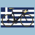 Bike Flag Greece (Big - Highlight) by sher00