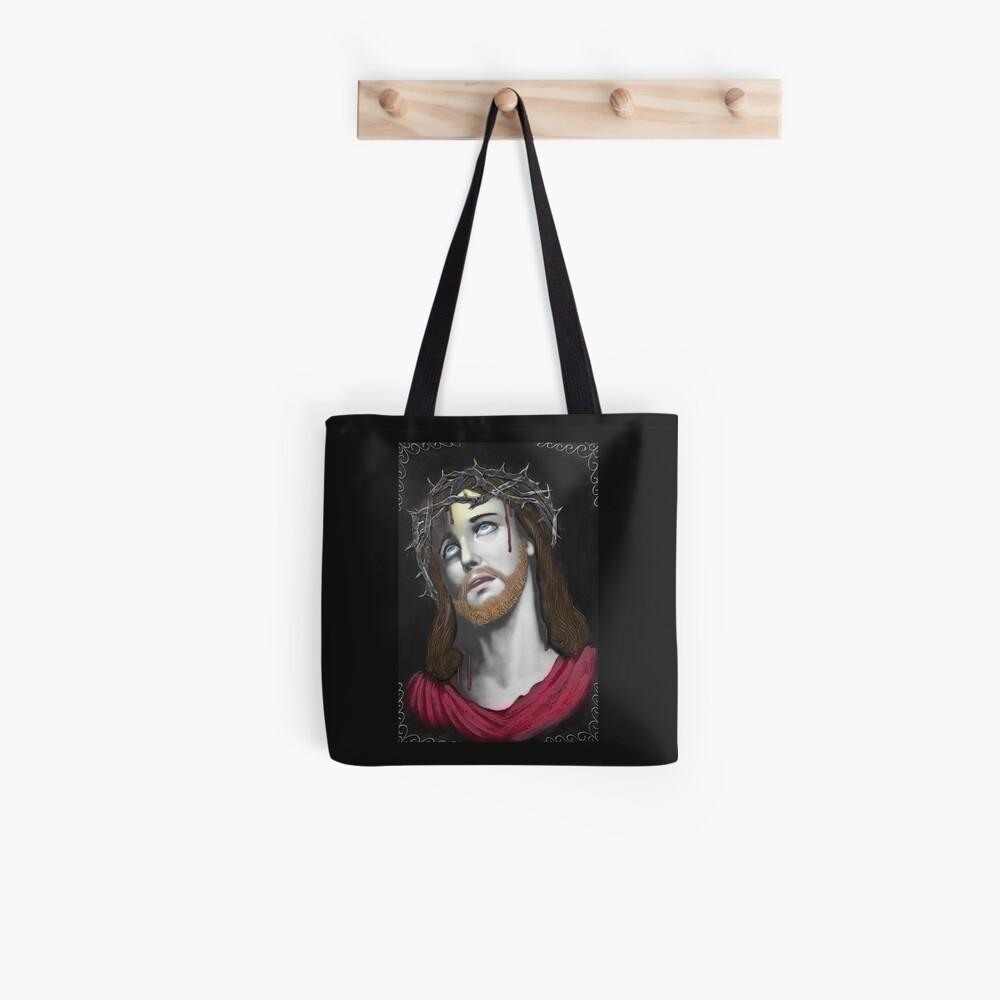 Artful Jesus Bolsa de tela