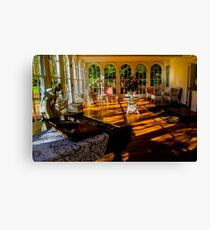 sitting room Canvas Print
