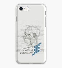 Speech Language Pathology Antique Anatomy iPhone Case/Skin