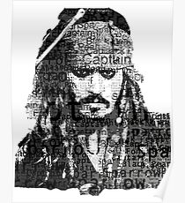 Jack Sparrow The Pirates Poster