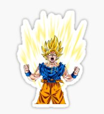 Goku Super Saiyan Sticker