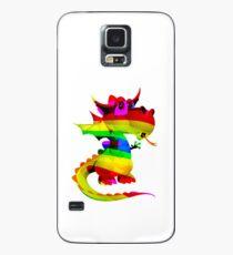 Rainbow Draco the Dragon  Case/Skin for Samsung Galaxy