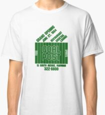 Goal Post (Variation 1) Green Classic T-Shirt